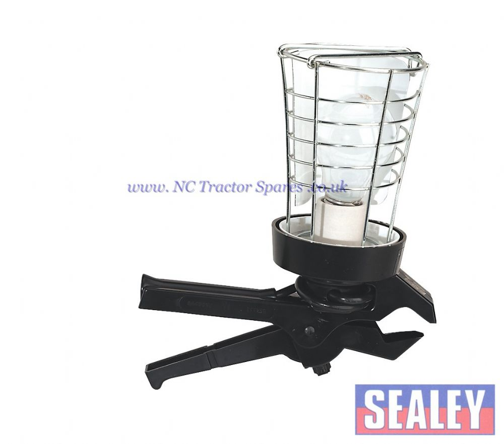 Lead Lamp with Gripper 100W/230V